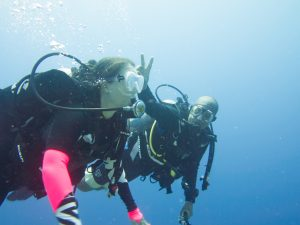 Having Fun Rescue Diver