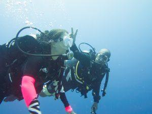 Having Fun Rescue Diver